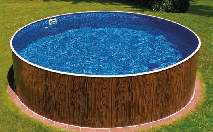 Decorar alrededor de una piscina desmontable